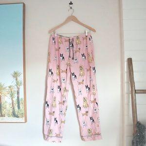 PJ Salvage dogs pajama pants
